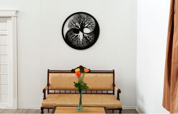 Tablou yin si yang copacul vietii